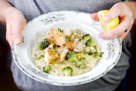 SM,-MM,-LM,-Stekt-torskfilé-med-kronärtskocksrisotto-&-rostad-broccoli,-F-HJ,-S-KB-W